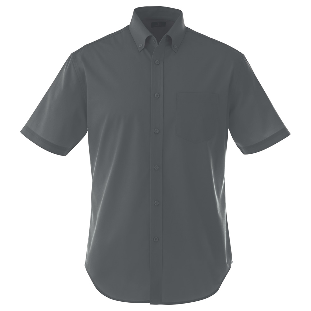 M-STIRLING Short Sleeve Shirt Grey Storm (991)