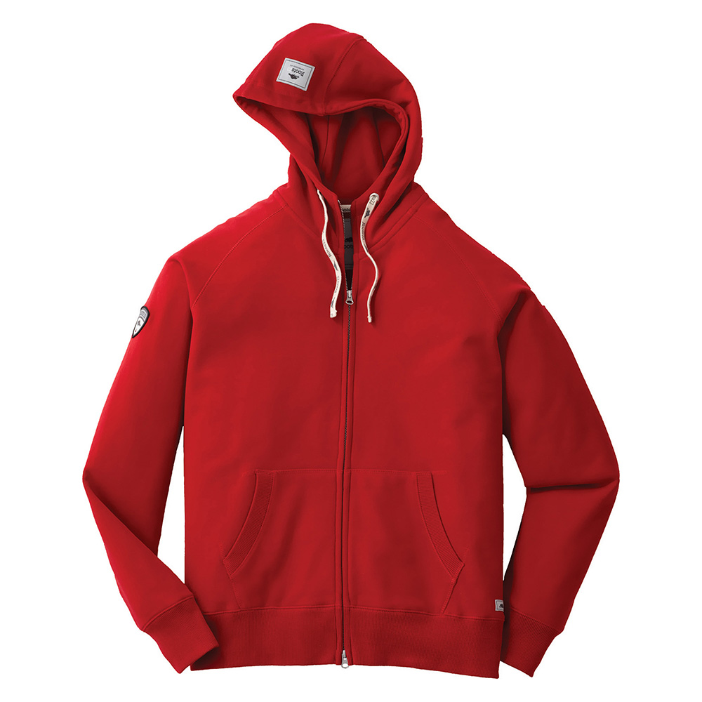 M-RIVERSIDE Roots73 FZ Hoody Cranberry (361)