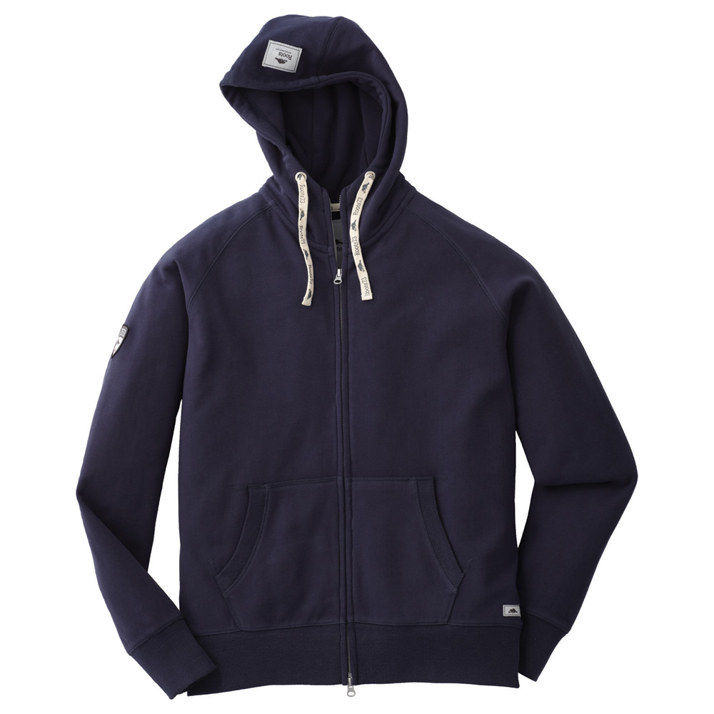 M-RIVERSIDE Roots73 FZ Hoody Atlantic Navy (574)