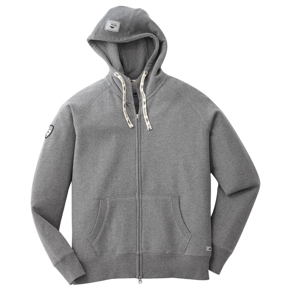 M-RIVERSIDE Roots73 FZ Hoody Charcoal Mix (987)