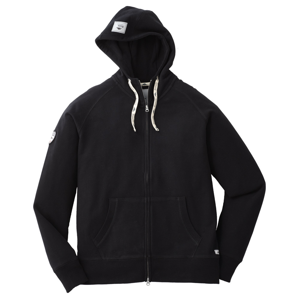 M-RIVERSIDE Roots73 FZ Hoody Black (995)