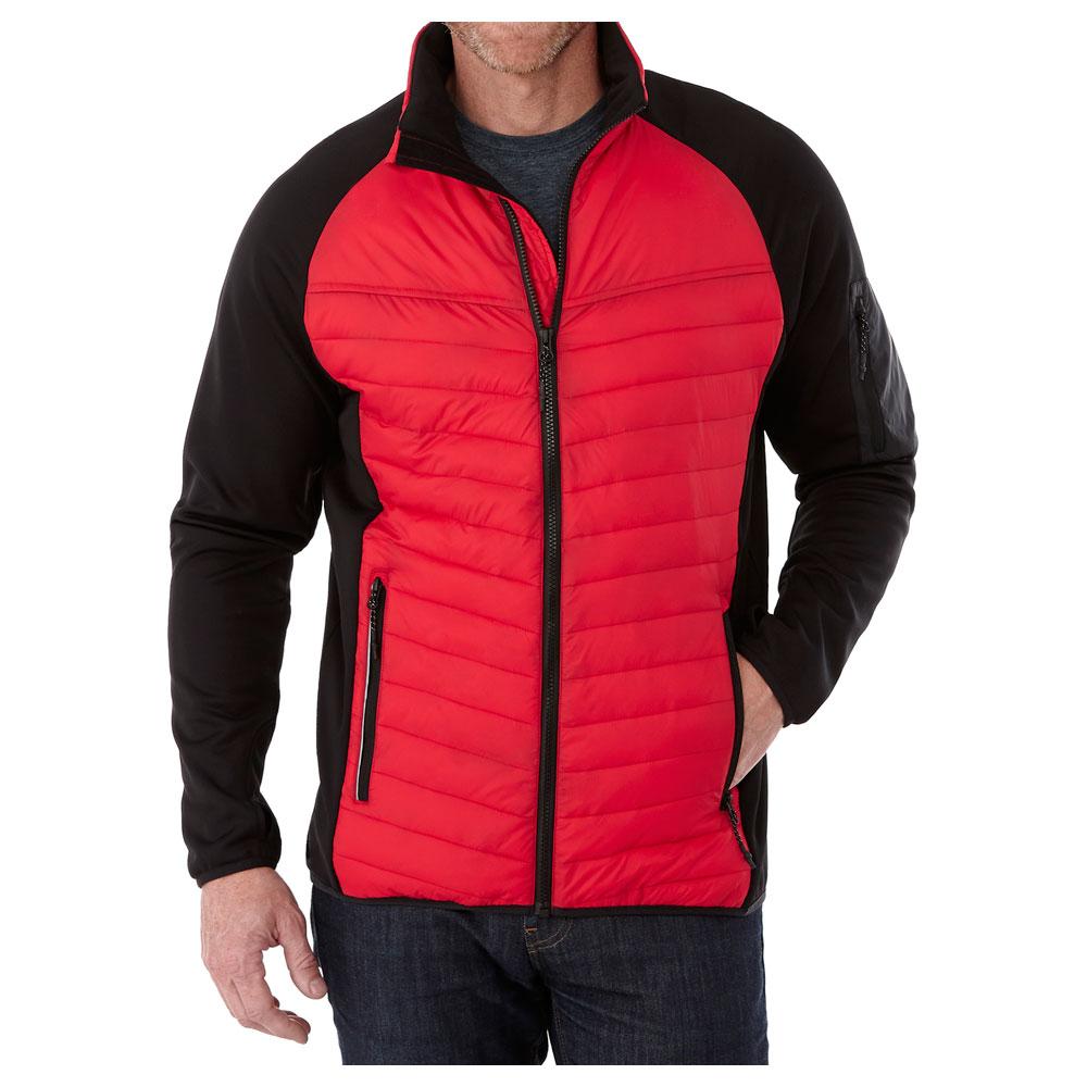 M-BANFF Hybrid Insulated Jacket Team Red/Black (358)