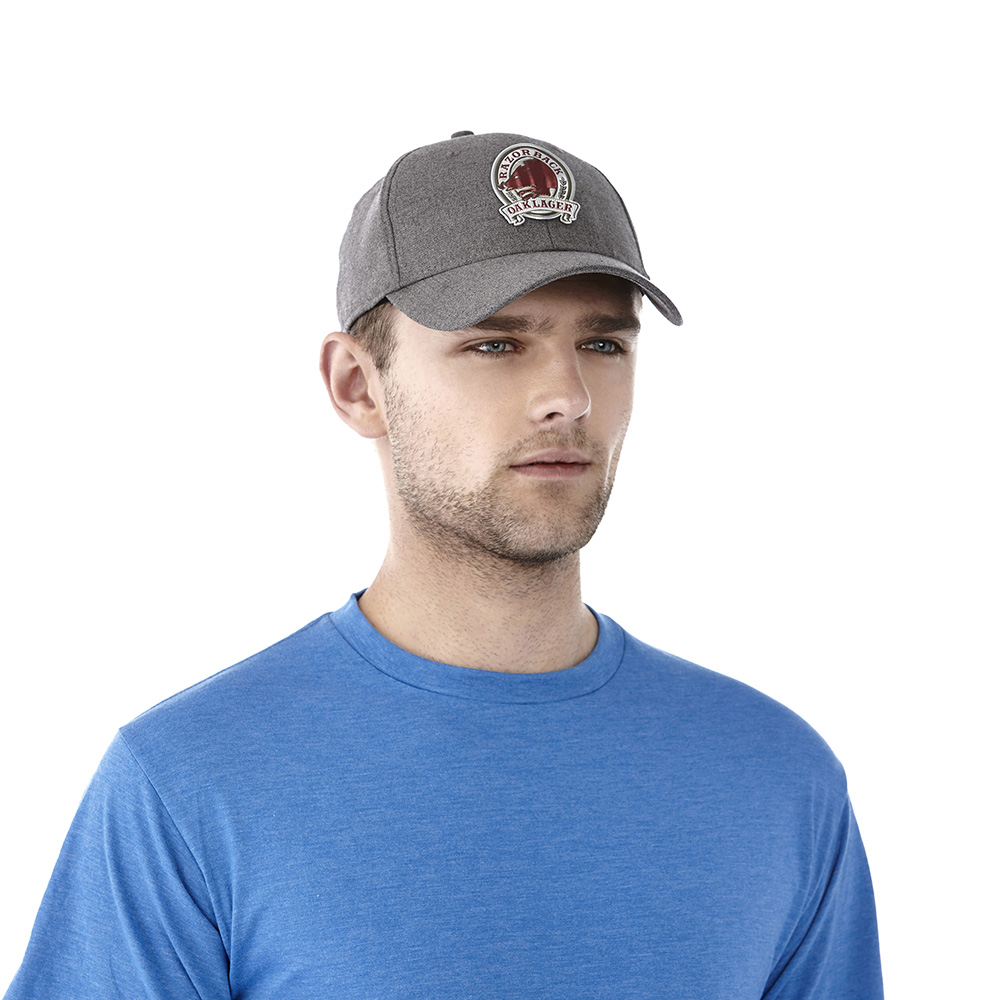 U-ACUITY Fitted Ballcap Heather Dark Charcoal (988)