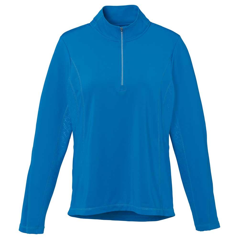 W-Caltech Knit Quarter Zip Olympic Blue (431)