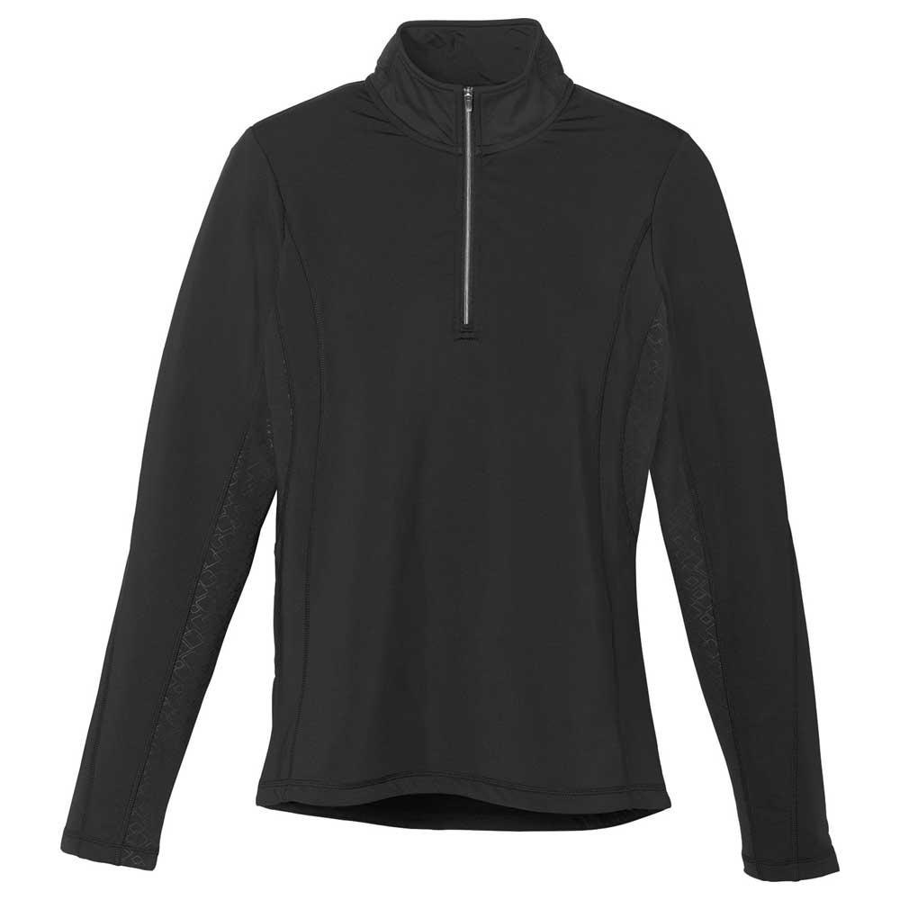 W-Caltech Knit Quarter Zip Black (995)