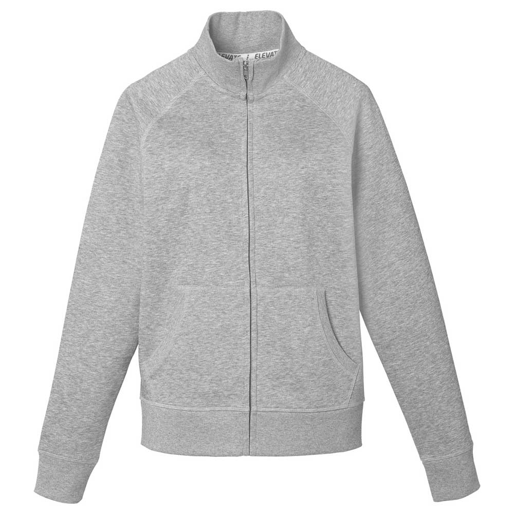 W-Silas Fleece Full Zip Jacket Heather Grey (932)
