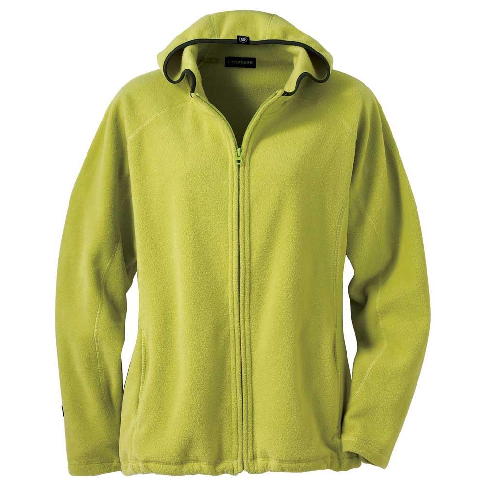 W-Kolana Microfleece Hoodie Citron Green (657)