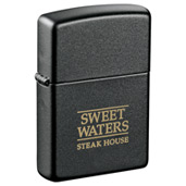 Zippo® Windproof Lighter Black Matte