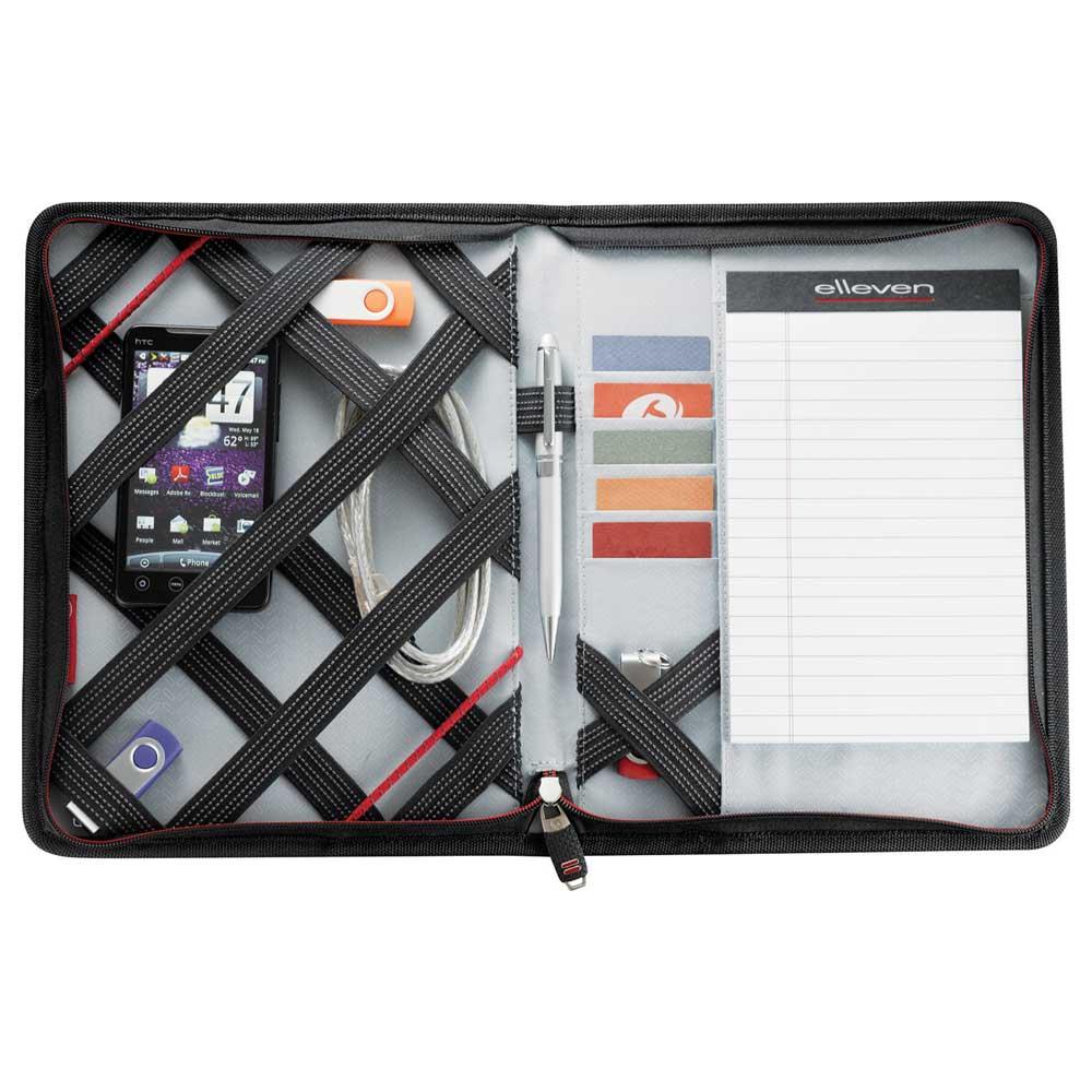 "elleven™ Jr. 10"" Tablet Zippered Padfolio"