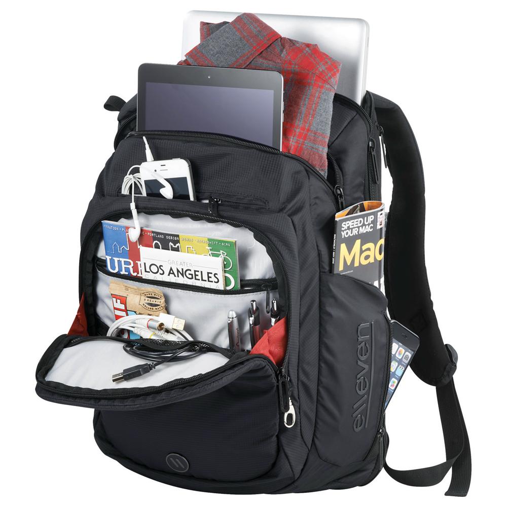 """elleven™ Stealth TSA 17"""" Computer Backpack"""