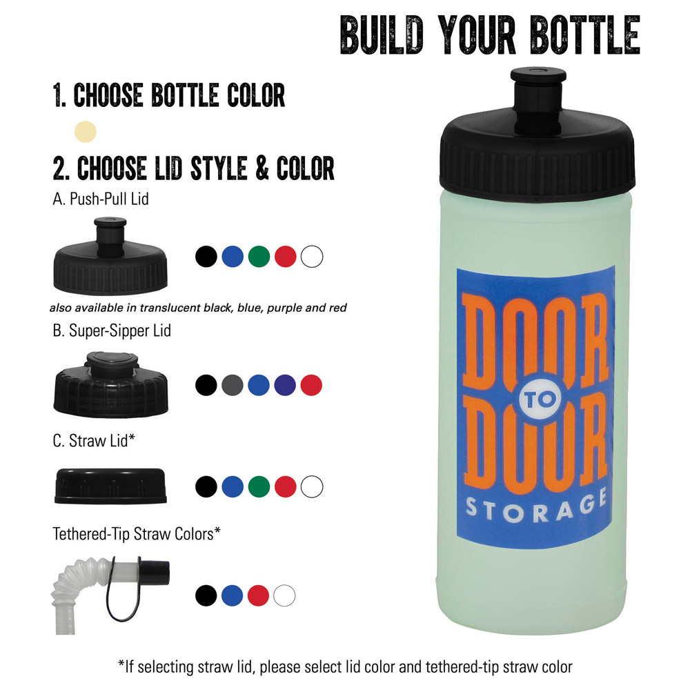 Glow Squeeze 16oz Sports Bottle
