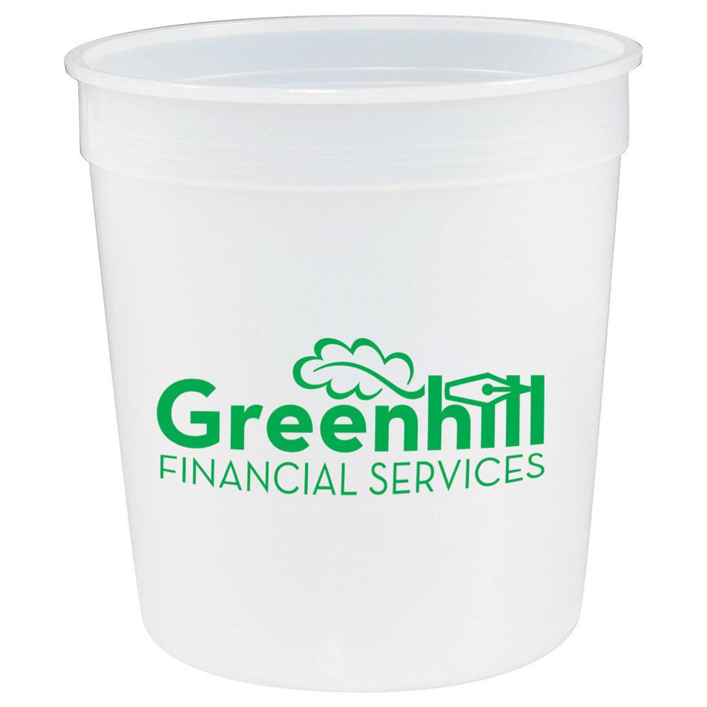 Solid 8oz Stadium Cup
