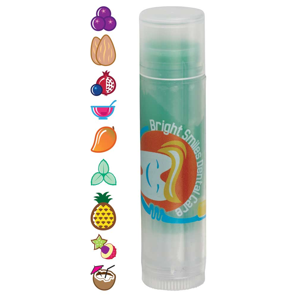 Non-SPF Clear Tube Colorful Lip Balm