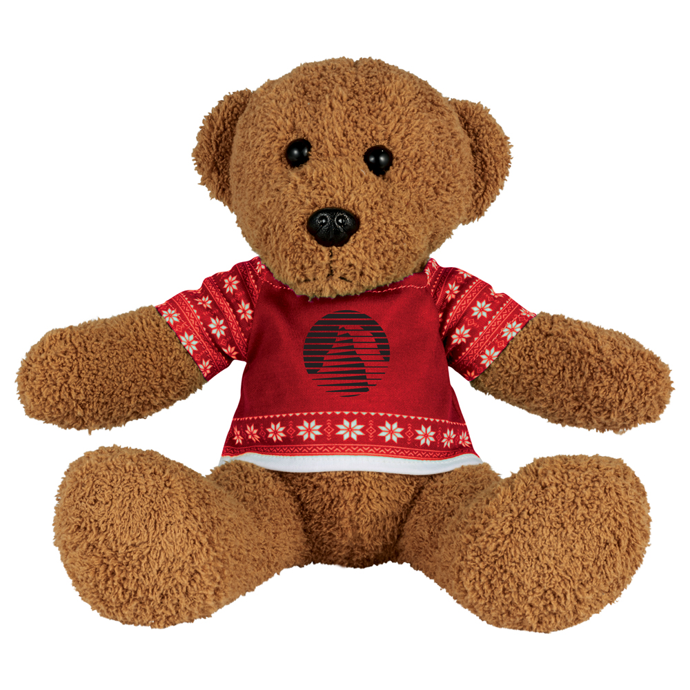 "8"" Ugly Sweater Rag Bear"