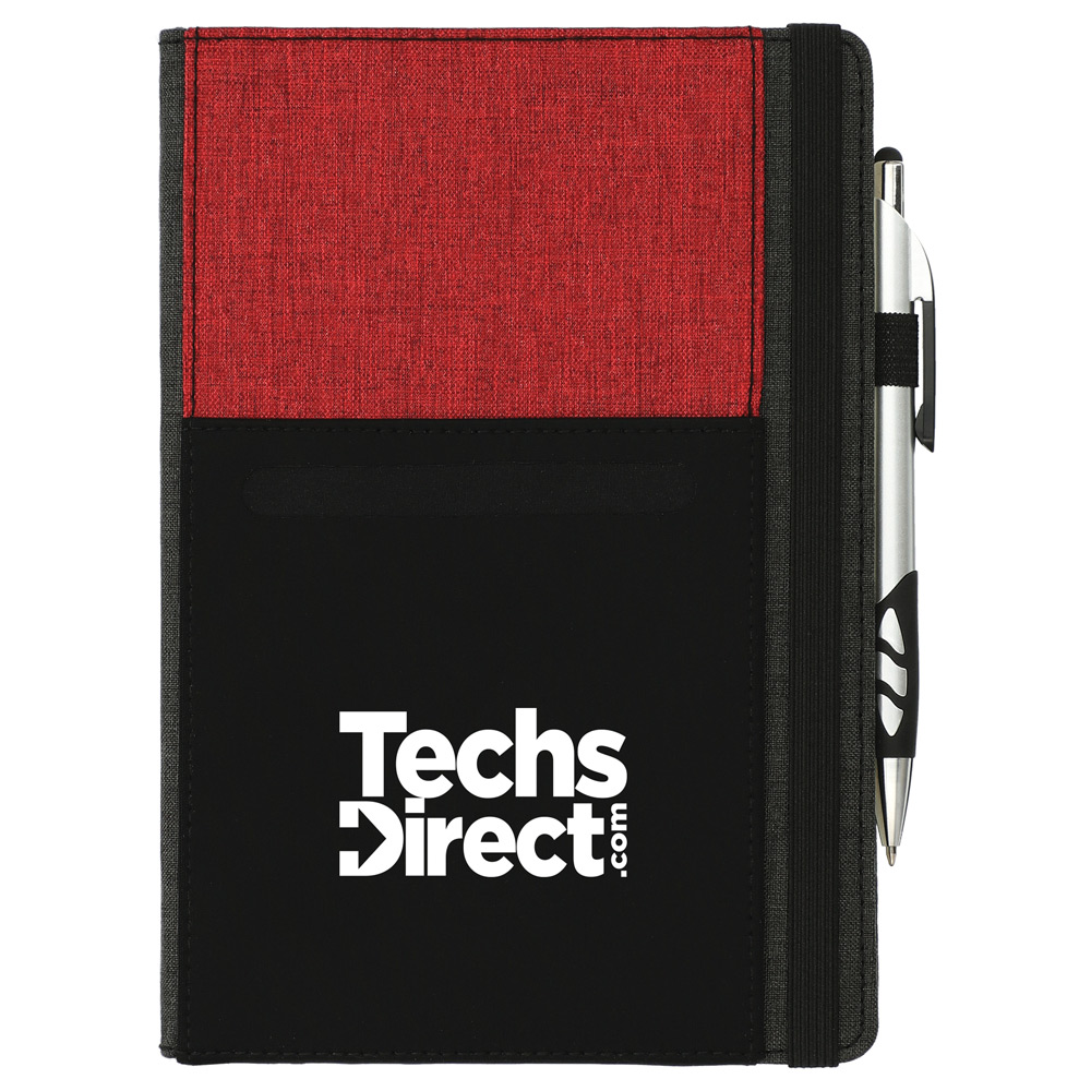 Graphite Phone Pocket Notebook
