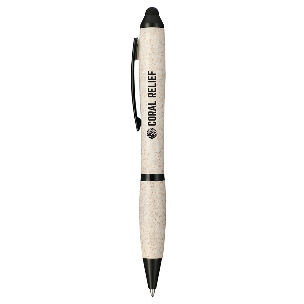 Nash Wheat Straw Ballpoint Stylus Pen