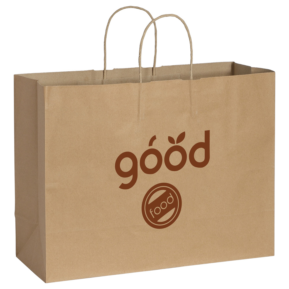 Kraft Paper Shopper Bag