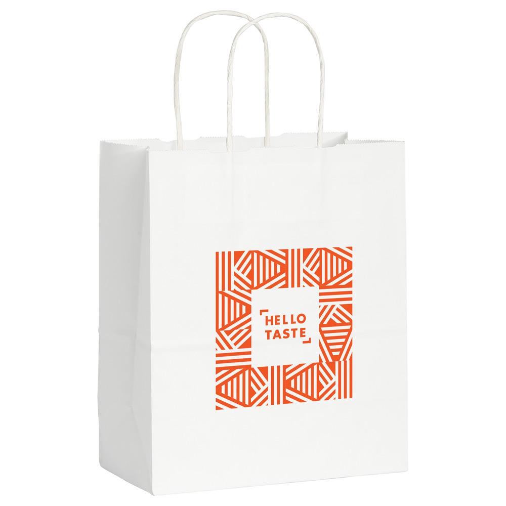 Kraft Paper Small Bag White