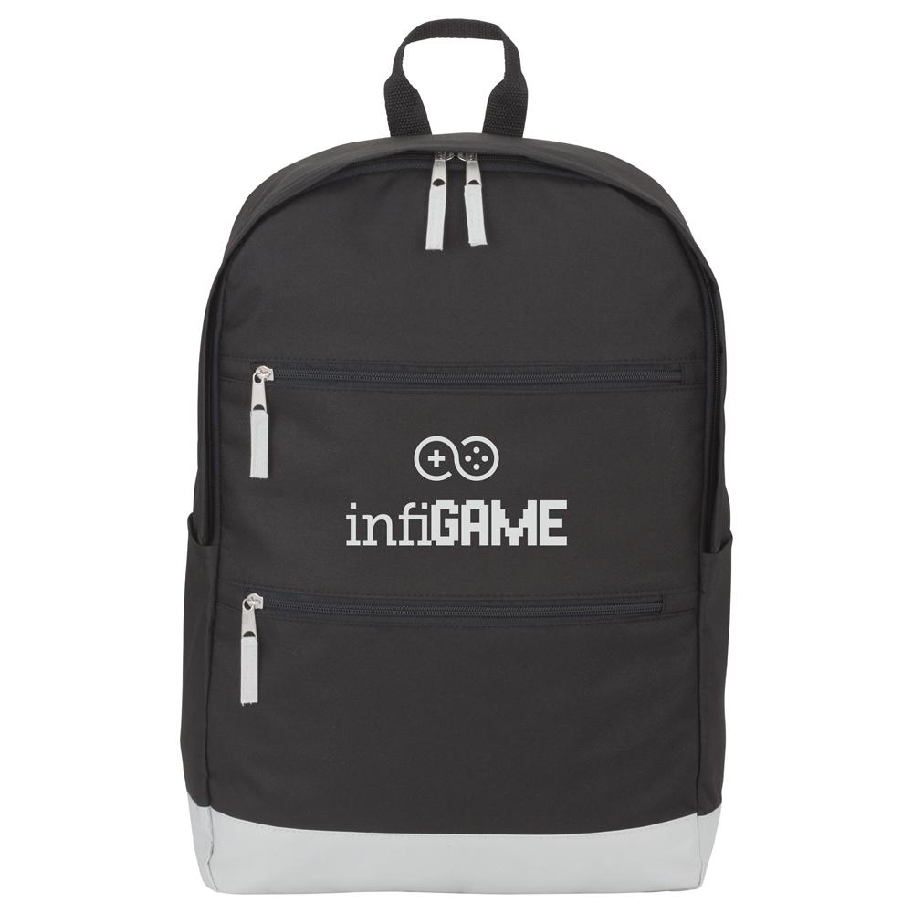 """Vertical Zip 15"""" Computer Backpack"""