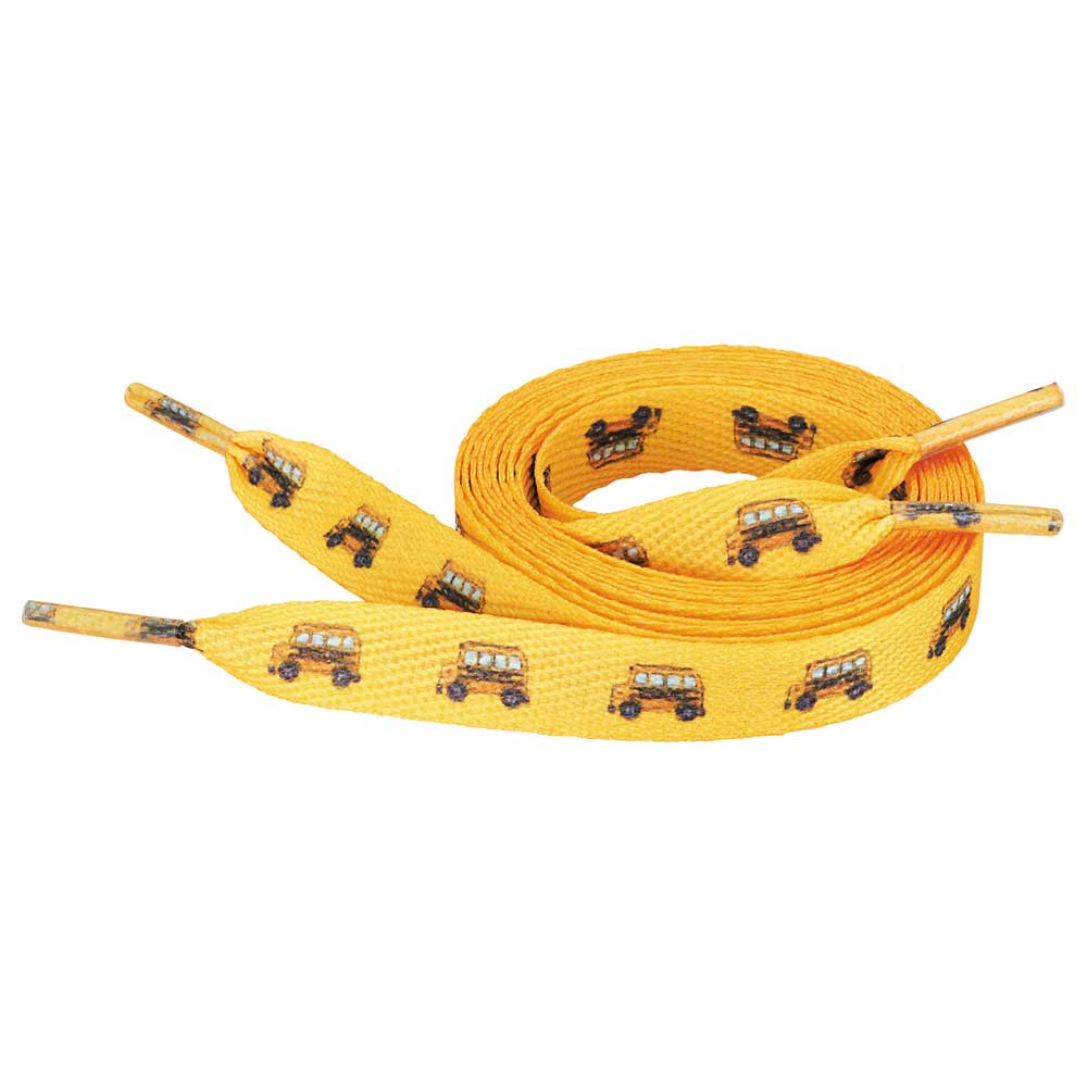 """Full Color Shoelaces - 1/2""""W x 36""""L"""