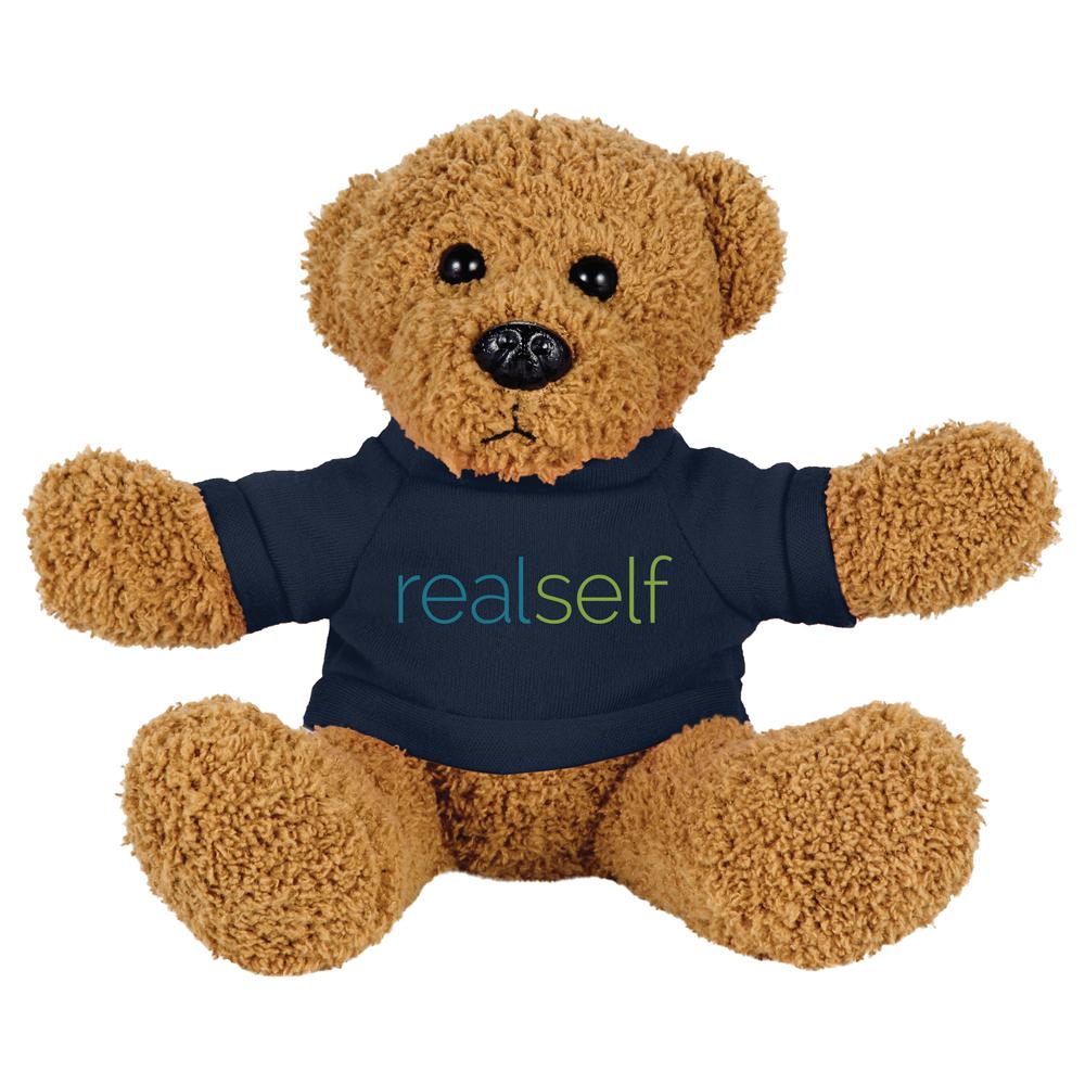"6"" Rag Bear with Shirt"
