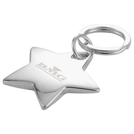 Star-Shaped Key Ring