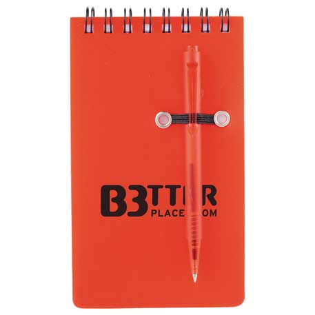 "3"" x 5"" Daily Spiral Jotter with Pen"