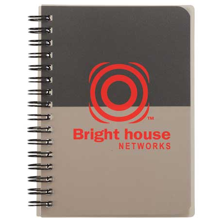 """4.5"""" x 6"""" Color Block Spiral Notebook -"""