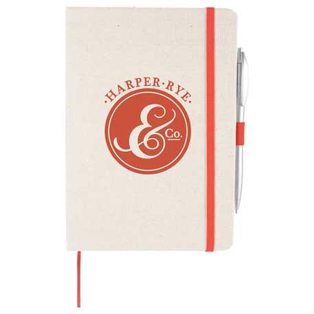 "5.5"" x 8.5"" Luna Canvas Notebook"