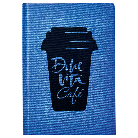 Denim Look Notebook