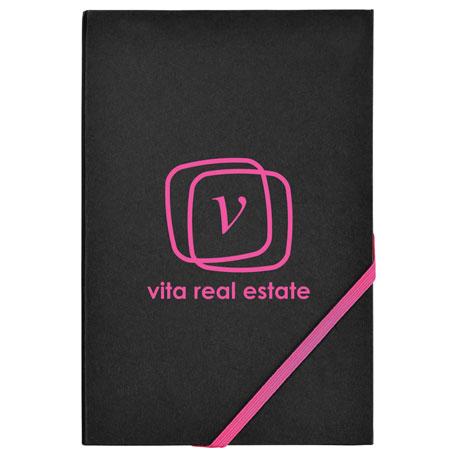 "5.5"" x 8.5"" Neon Edge Notebook"