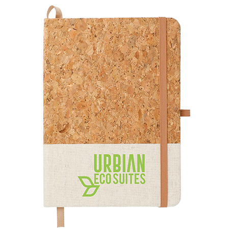 "5"" x 7"" Cork and Jute Bound Notebook"