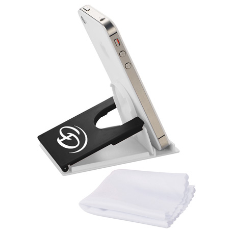 Snap Media Holder with Screen Cleaner