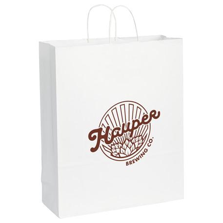 Kraft Paper Jumbo Bag White