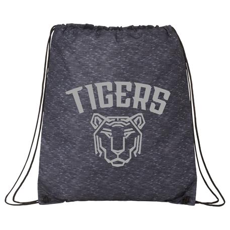 Graphite Oriole Drawstring Bag