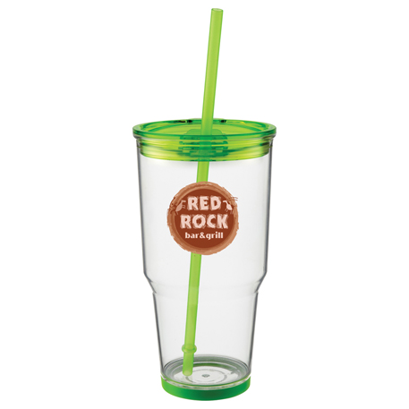 Biggie 24-oz. Tumbler with Straw