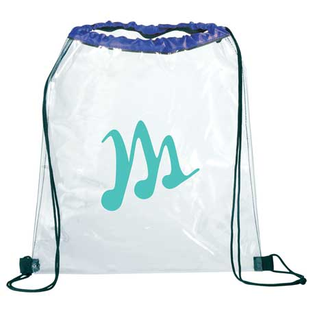 Rally Clear Drawstring Bag