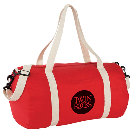 "Barrel 18"" 5oz Cotton Canvas Duffel Bag"