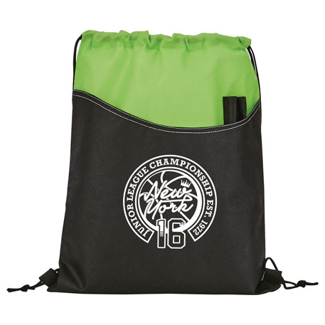 Rivers Non-Woven Drawstring Bag