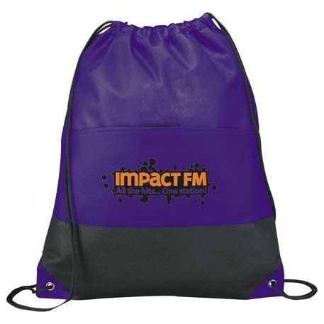 Coast Non-Woven Drawstring Bag