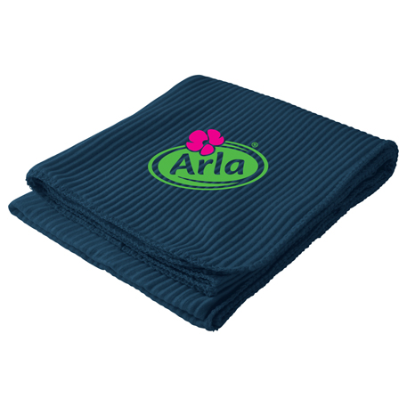 Ribbed Fleece Blanket