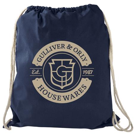 Large Cotton Drawstring Bag