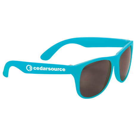Solid Retro Sunglasses