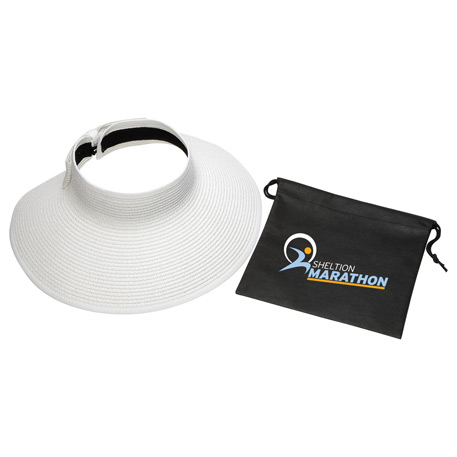 Beachcomber Roll-Up Sun Visor with Pouch