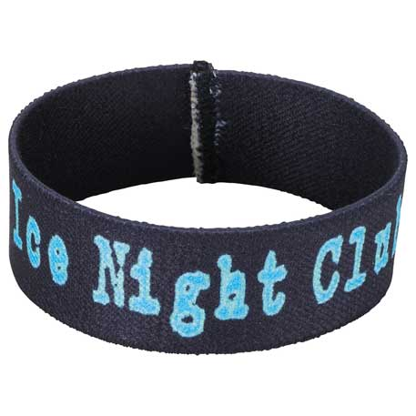 "Full Color 1"" Elastic Wristband"