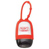 1oz Hand Sanitizer w/ Silicone Carrier