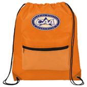 Mesh Front Pocket Drawstring Sportspack