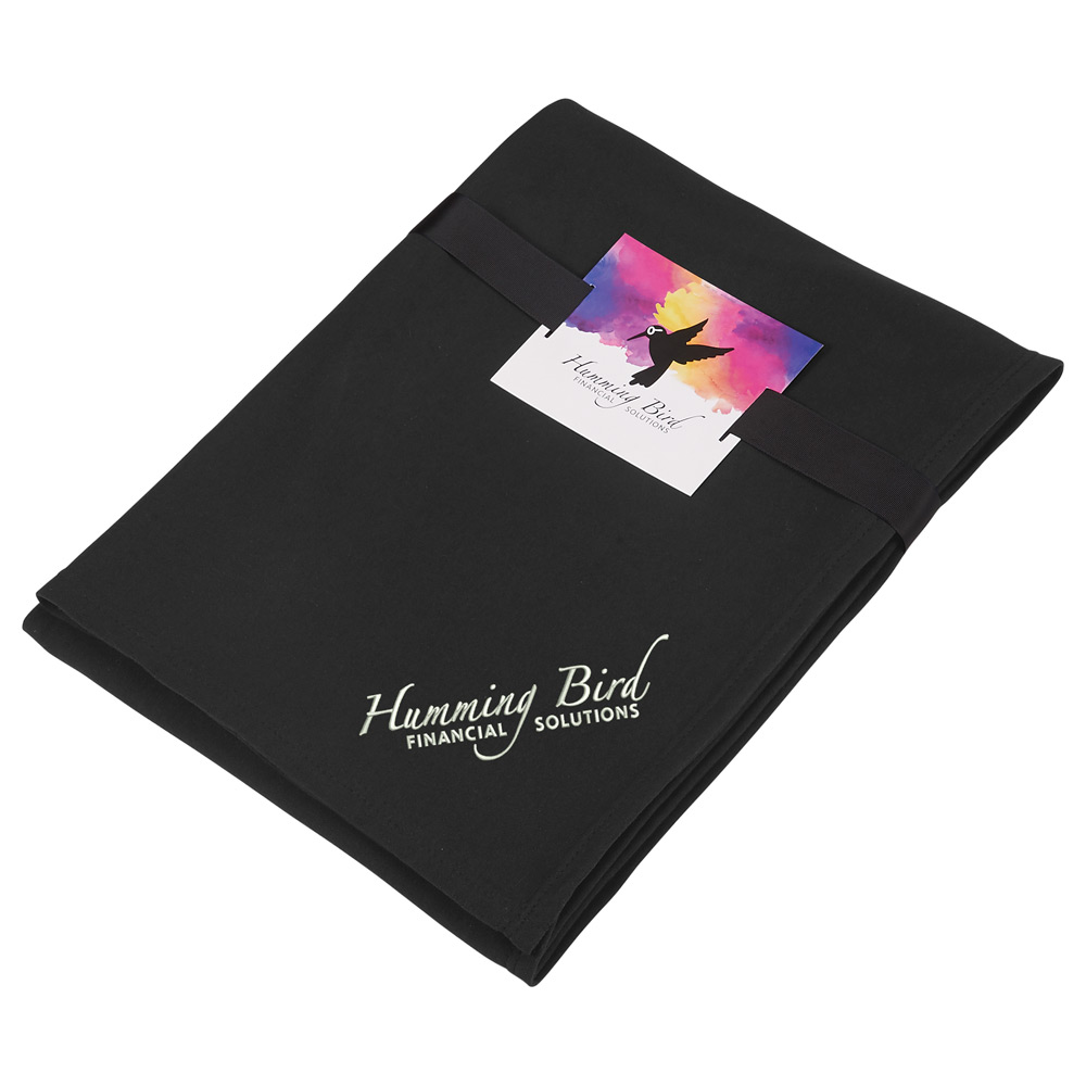 Sweatshirt Blanket with Full Color Card and Band