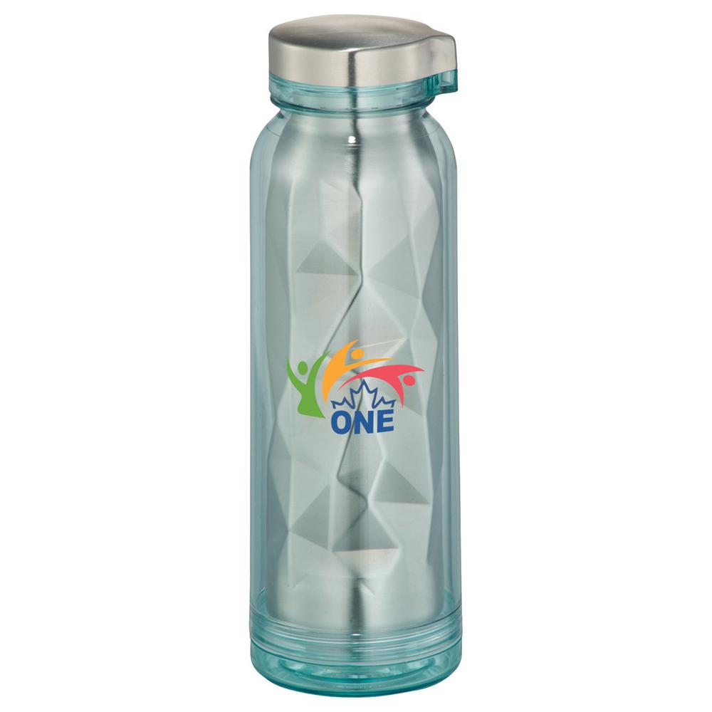 Geometric Stainless Sport Bottle 16oz