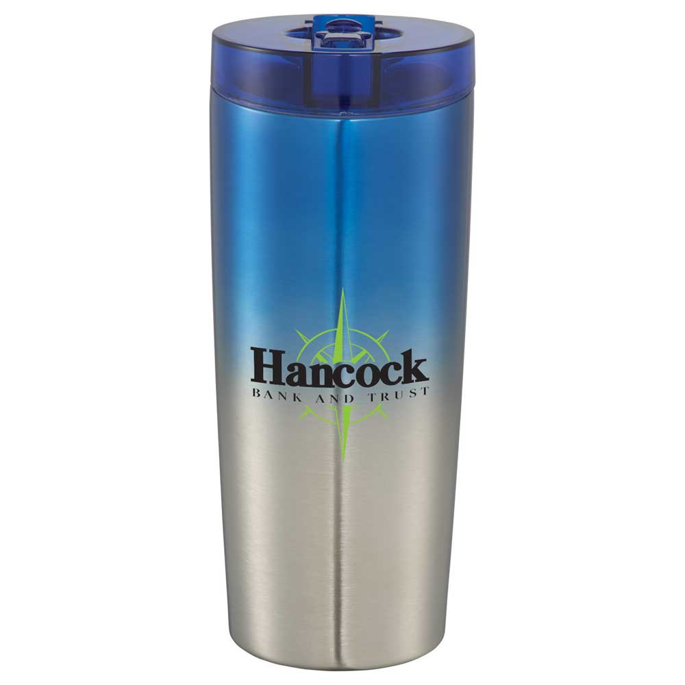 Hot & Cold Flip n Sip Copper Vacuum Tumbler 24oz
